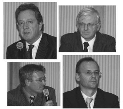 de droite à gauche : didier lambert, dsi d'essilor et ancien président du cigref