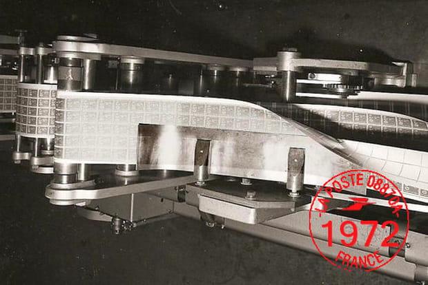 Timbres en 1972