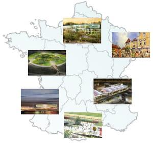 dans chaque région de france, plusieurs projets de centres commerciaux sont en
