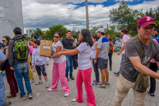 Aide humanitaire: partir en mission