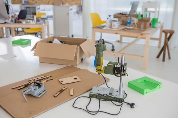 Un fablab pour prototyper les projets sur place