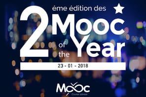 """La cérémonie """"Mooc of the Year"""" aura lieu le 23janvier 2018"""