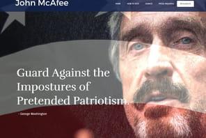 Le pionnier des antivirus John McAfee candidat à la présidentielle US