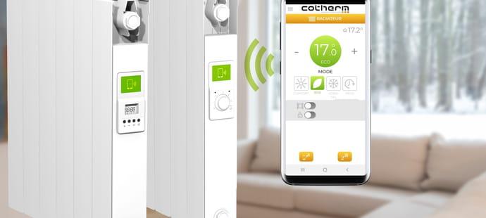 Pour ses thermostats, Cotherm passe à l'IoT grâce au NFC