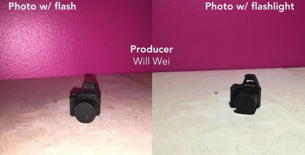 Améliorez la qualité de l'image en désactivant le flash