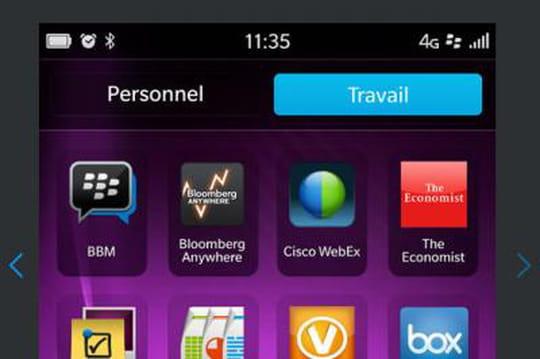 """BlackBerry, à ses clients: """"Vous pouvez compter sur nous"""""""
