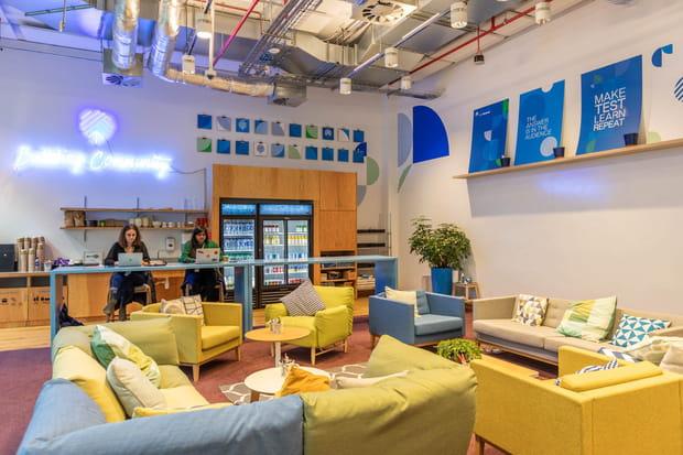 Un incubateur pour les start-up londoniennes