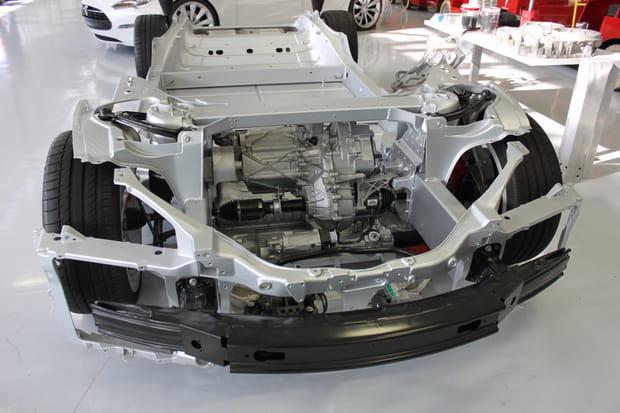 Le moteur de la Model S