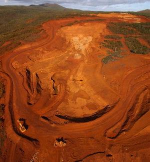 la mine de nickel de goro, en nouvelle-calédonie, est l'une des plus grandes du