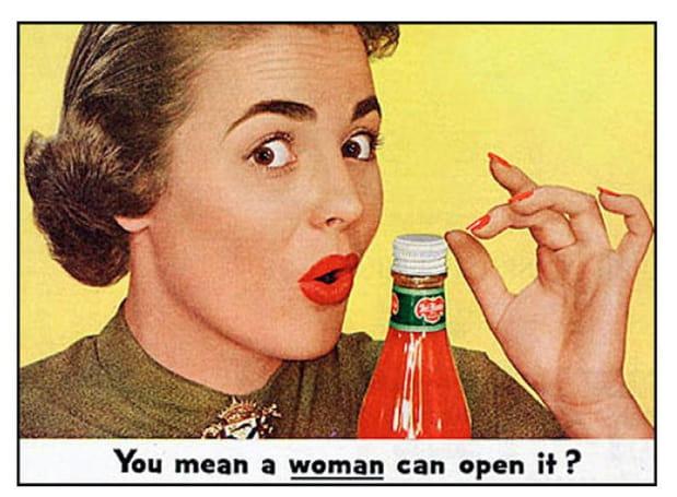 """""""Vous voulez dire qu'une femme peut l'ouvrir?"""""""