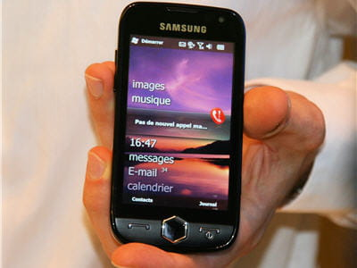 windows mobile 6.5 sur mobile samsung