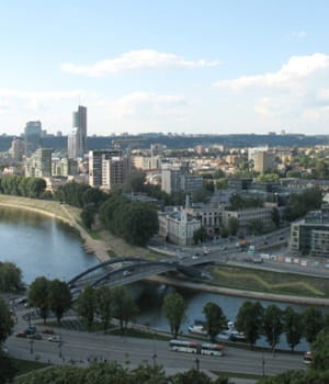 vilnius est la capitale de la lituanie.