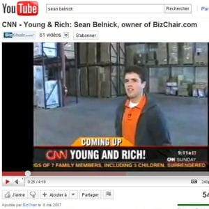 sean belnick a fait l'objet d'un reportage de la chaîne américaine cnn