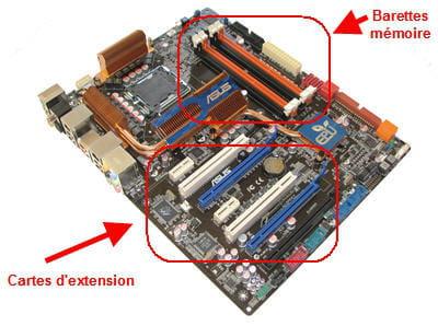exemple de carte mère, la p5q3 deluxe