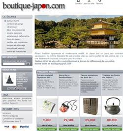 site créé avec prestashop