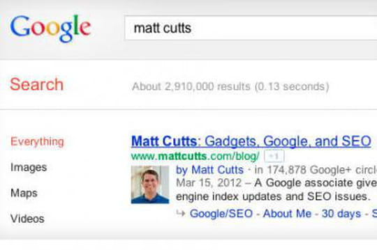 Google+ Sign In fait apparaitre la photo des auteurs dans Google