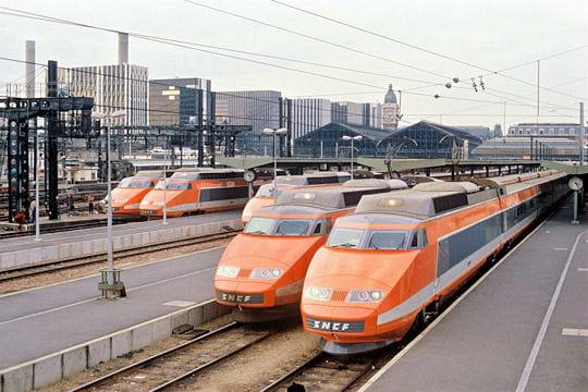 Le premier TGV en 1981