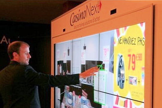 NFC, murs de shopping... Casino déploie une série d'outils multicanaux