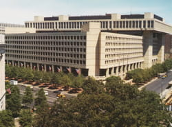 le quartier général du fbi, à washington.