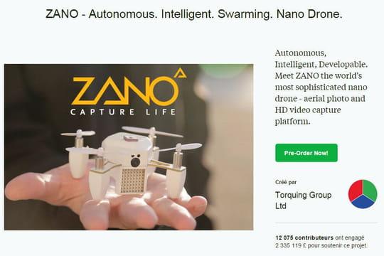 Une start-up de drones ayant levé 3,3millions d'euros sur Kickstarter met la clé sous la porte