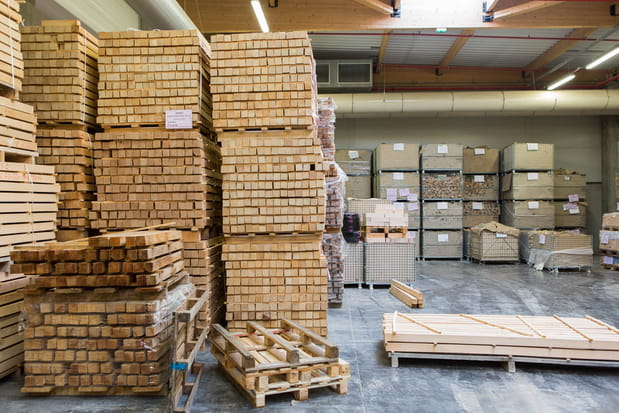 1400 m3 de bois consommés par an