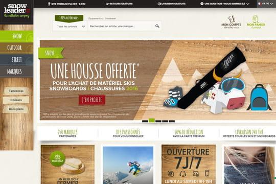 L'e-commerçant d'articles de sport Snowleader lève 2,5 millions d'euros