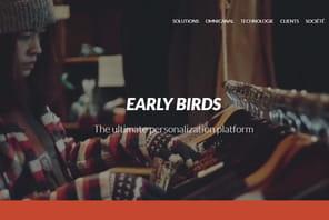 Early Birds lève5millions d'euros pour personnaliser l'e-commerce