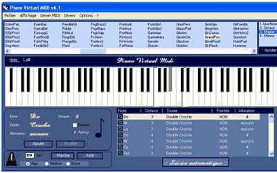 copie d'écran du logiciel disponible sur le site de laurent minot.