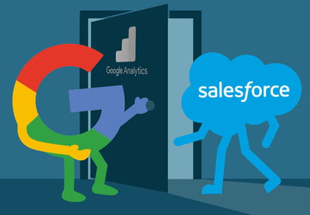 Salesforce ajoute la puissance de Google Analytics à son offre CRM