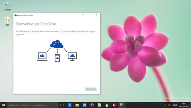 Un OS orienté vers le cloud
