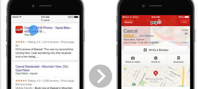 SEO : l'App Indexing arrive sur le Safari d'iOS 9