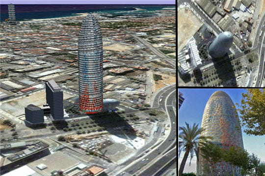 La tour Agbar de Barcelone