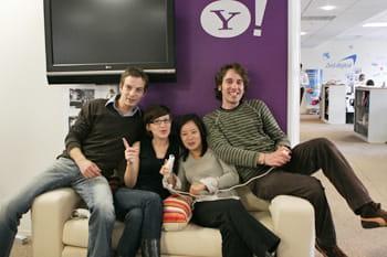 olivier, mélissa, nathanaelle et hubert, membres de l'équipe animation.