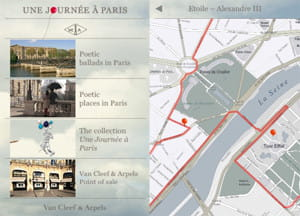 l'application iphone de van cleef & arpels