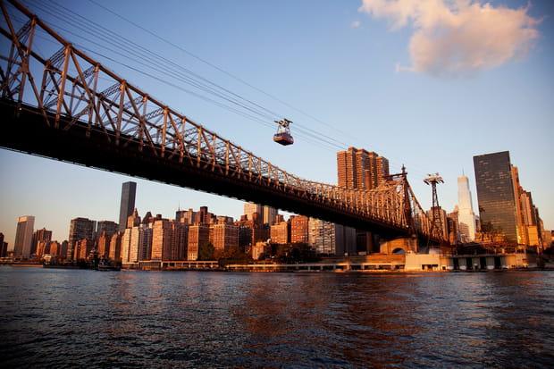 Un tramway aérien poursurvoler NewYork