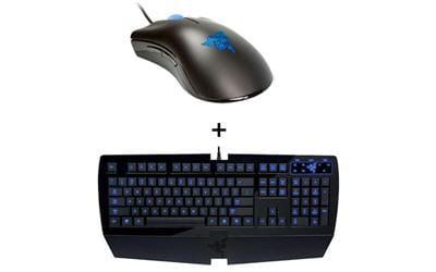 un ensemble clavier/ souris pour 'gamers'