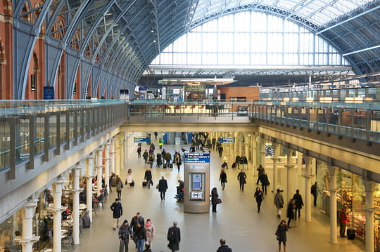 Une start-up française va digitaliser la gare Saint-Pancras à Londres