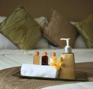 les hôtels vous fourniront le nécessaire en matière de produits.