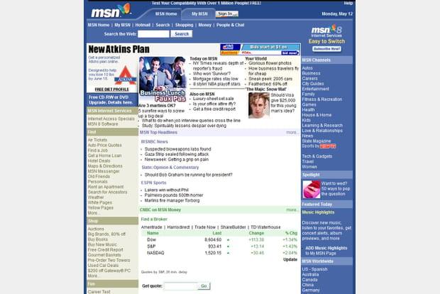 MSN en 2003