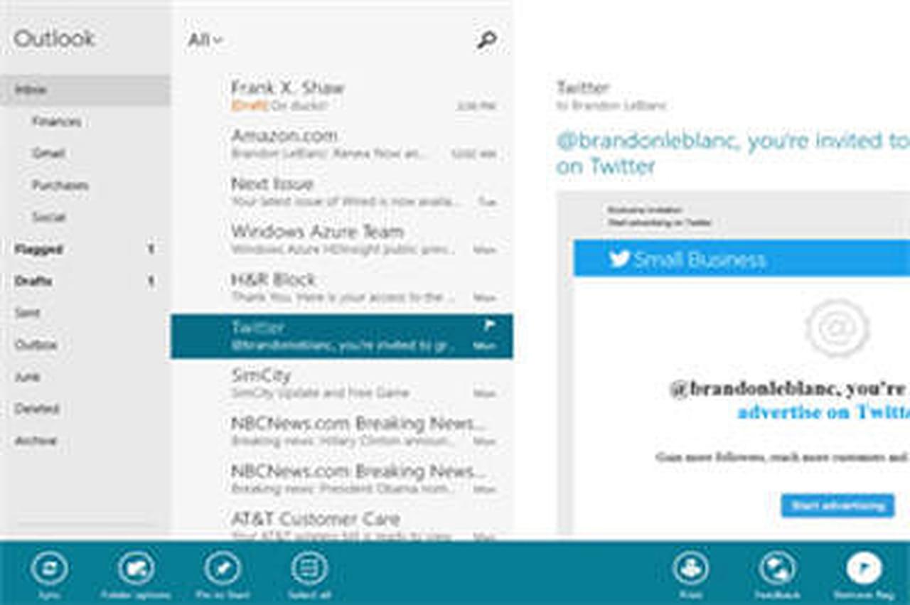 Courrier Et Calendrier.Windows 8 Mise A Jour Des Apps Courrier Calendrier Et