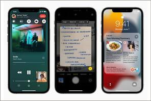iOS15: toutes les nouveautés et les appareils compatibles