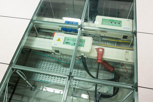 Un data center de plein pied organisé sur 3niveaux