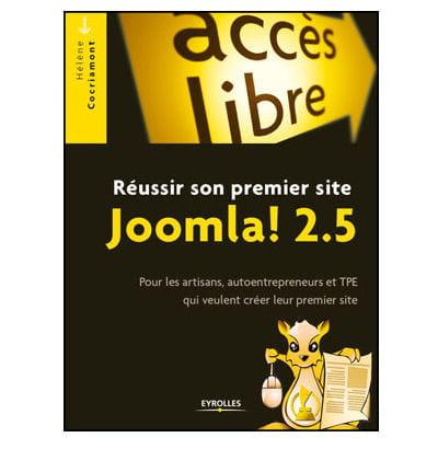 'réussir son premier site joomla! 2.5!', écrit par hélène cocriamont vient de