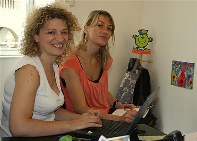 carine celnik, directrice marketing et du business développement, en plein