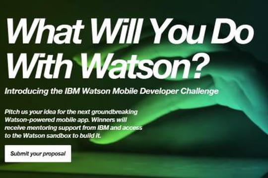 IBM lance un concours pour faire décoller son système cognitif Watson