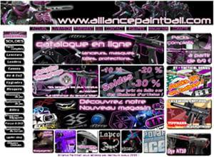alliancepaintball.com