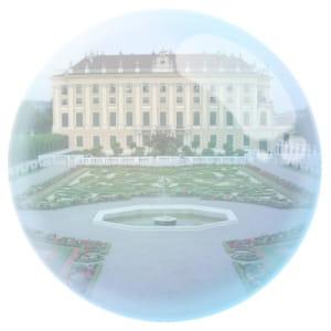 le château de schönbrunn, à vienne, ville d'où est parti le krach.
