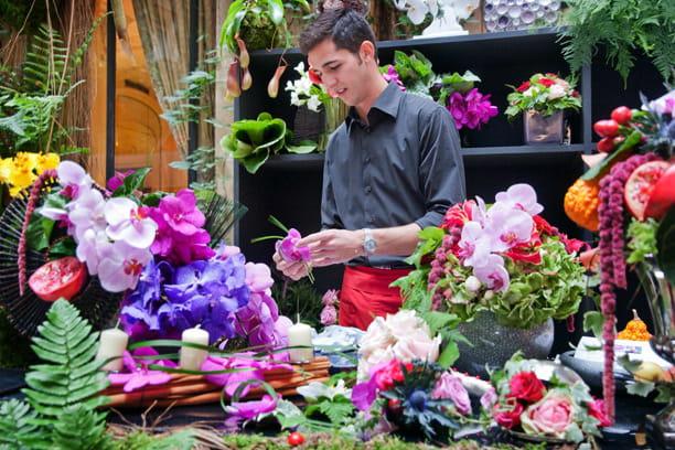 Plazza Athénée : fleuristes