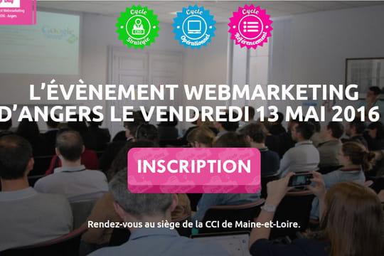 WebCampDay : l'événement SEO et webmarketing angevin donne rendez-vous le13mai