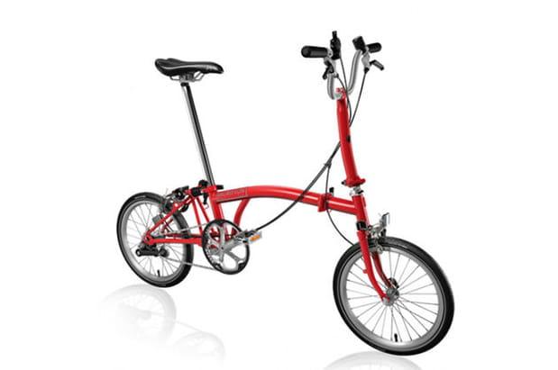 Un vélo pliant Brompton
